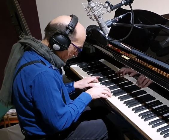 Jérôme B.Sedeyn at Crystal Silence Berlin Recording Studio Grand Piano Dan Katz Peter Rahe